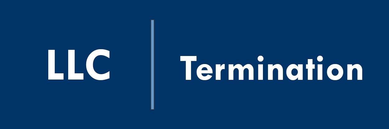 LLC Termination