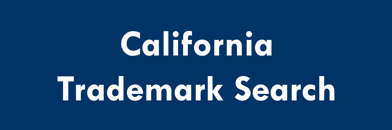 California Trademark Search