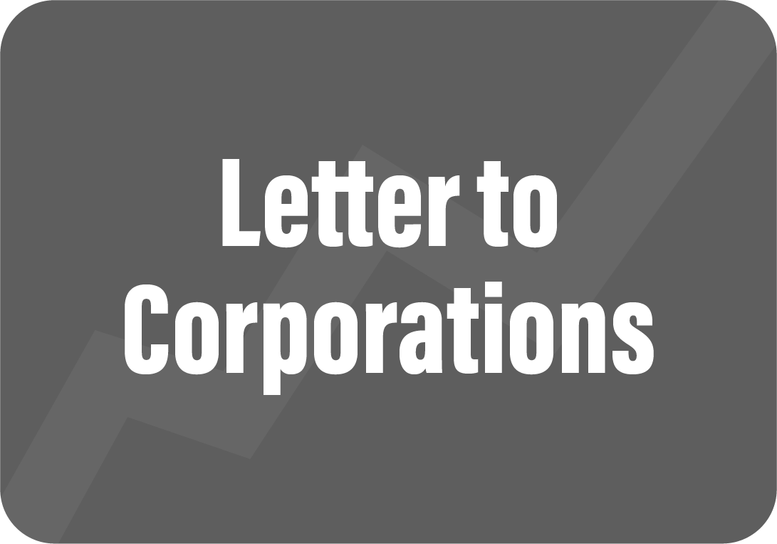 Letter to Corporations